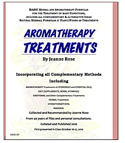 Aromatherapy Treatments by Jeanne Rose